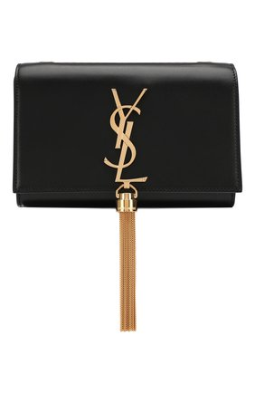 Женская сумка monogram kate small на цепочке SAINT LAURENT черного цвета, арт. 354120/C150J | Фото 1