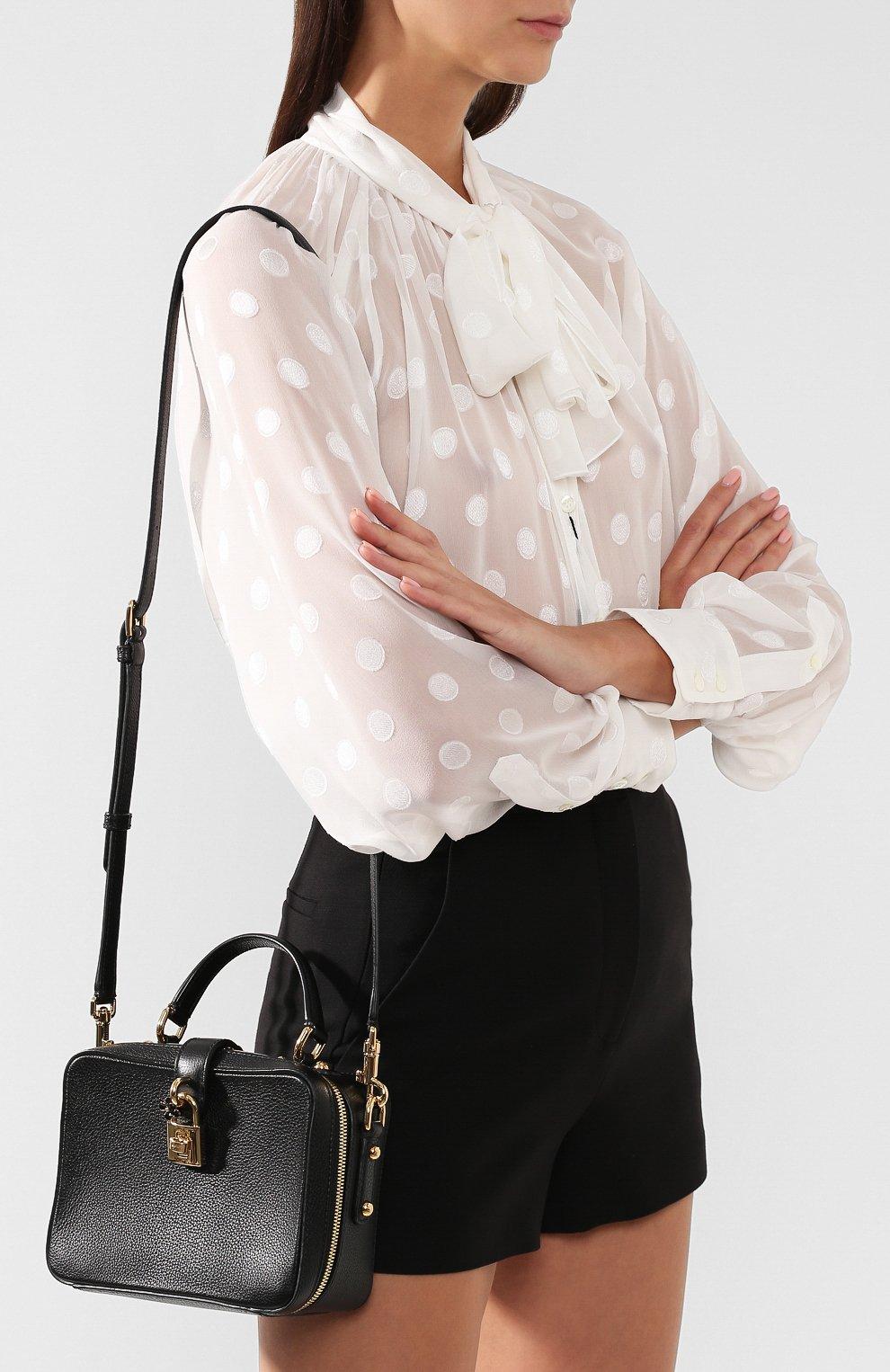 Сумка Rosaria Dolce & Gabbana черная цвета   Фото №5