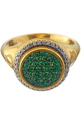 Женское кольцо sita ring QUEENSBEE золотого цвета, арт. 102271   Фото 1