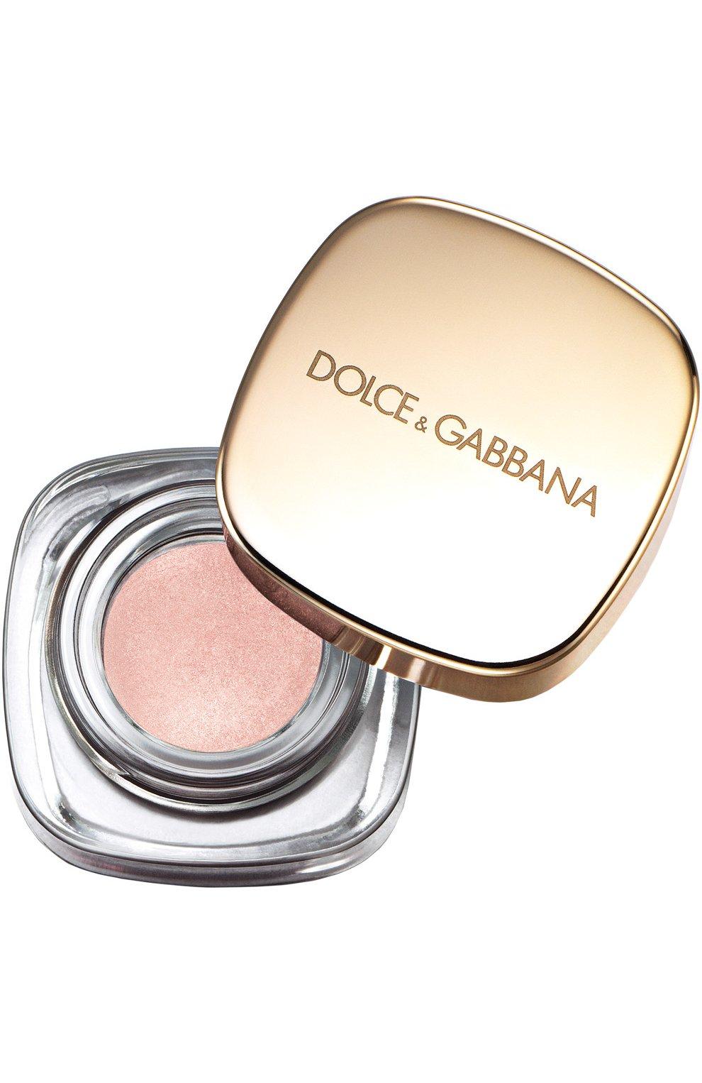 Женские тени для век 020 gold dust DOLCE & GABBANA бесцветного цвета, арт. 737052860084 | Фото 1