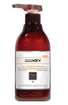 Восстанавливающий шампунь для окрашенных волос Color Lasting Saryna Key | Фото №1