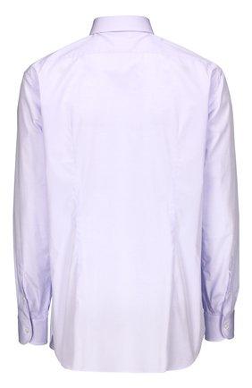 Мужская хлопковая сорочка BRIONI светло-сиреневого цвета, арт. RCL9/PZ005 | Фото 2