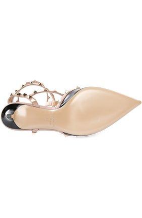 Лаковые туфли Valentino Garavani Rockstud с ремешками | Фото №5