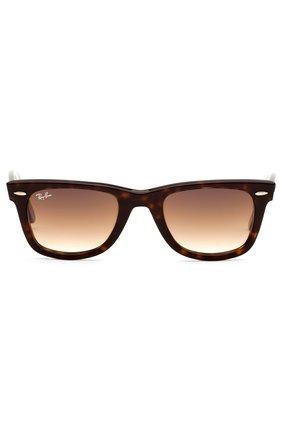 Мужские солнцезащитные очки RAY-BAN коричневого цвета, арт. 2140-902/51 | Фото 2