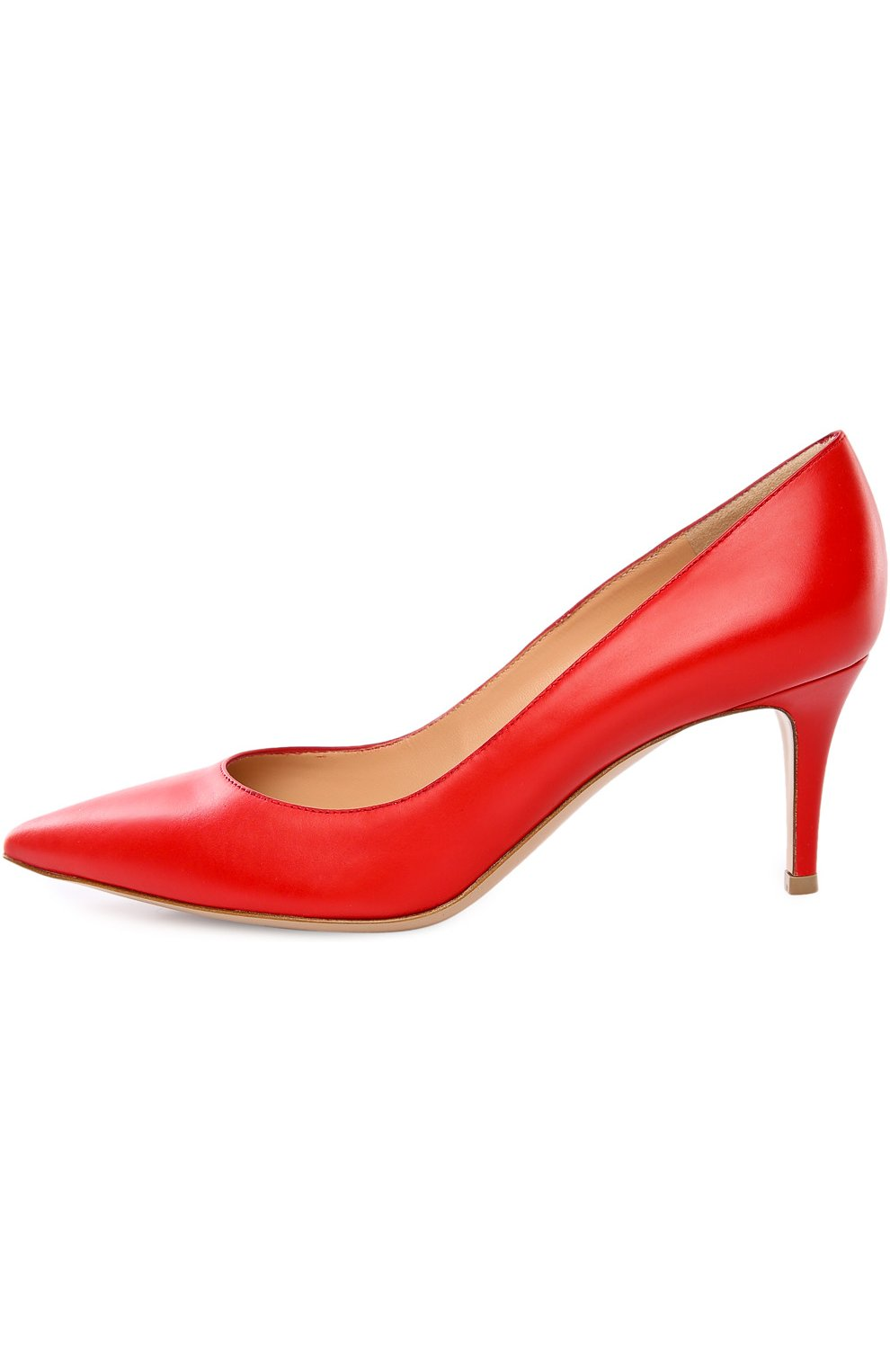 Кожаные туфли Gianvito 70 на шпильке | Фото №1