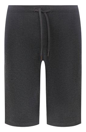 Мужские домашние шорты DEREK ROSE темно-серого цвета, арт. 3559-MARL001 | Фото 1