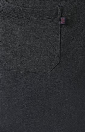 Мужские домашние шорты DEREK ROSE темно-серого цвета, арт. 3559-MARL001   Фото 5 (Кросс-КТ: домашняя одежда; Материал внешний: Синтетический материал; Статус проверки: Проверена категория)