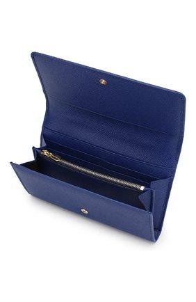 Сумка Sicily Von на цепочке Dolce & Gabbana синего цвета | Фото №4