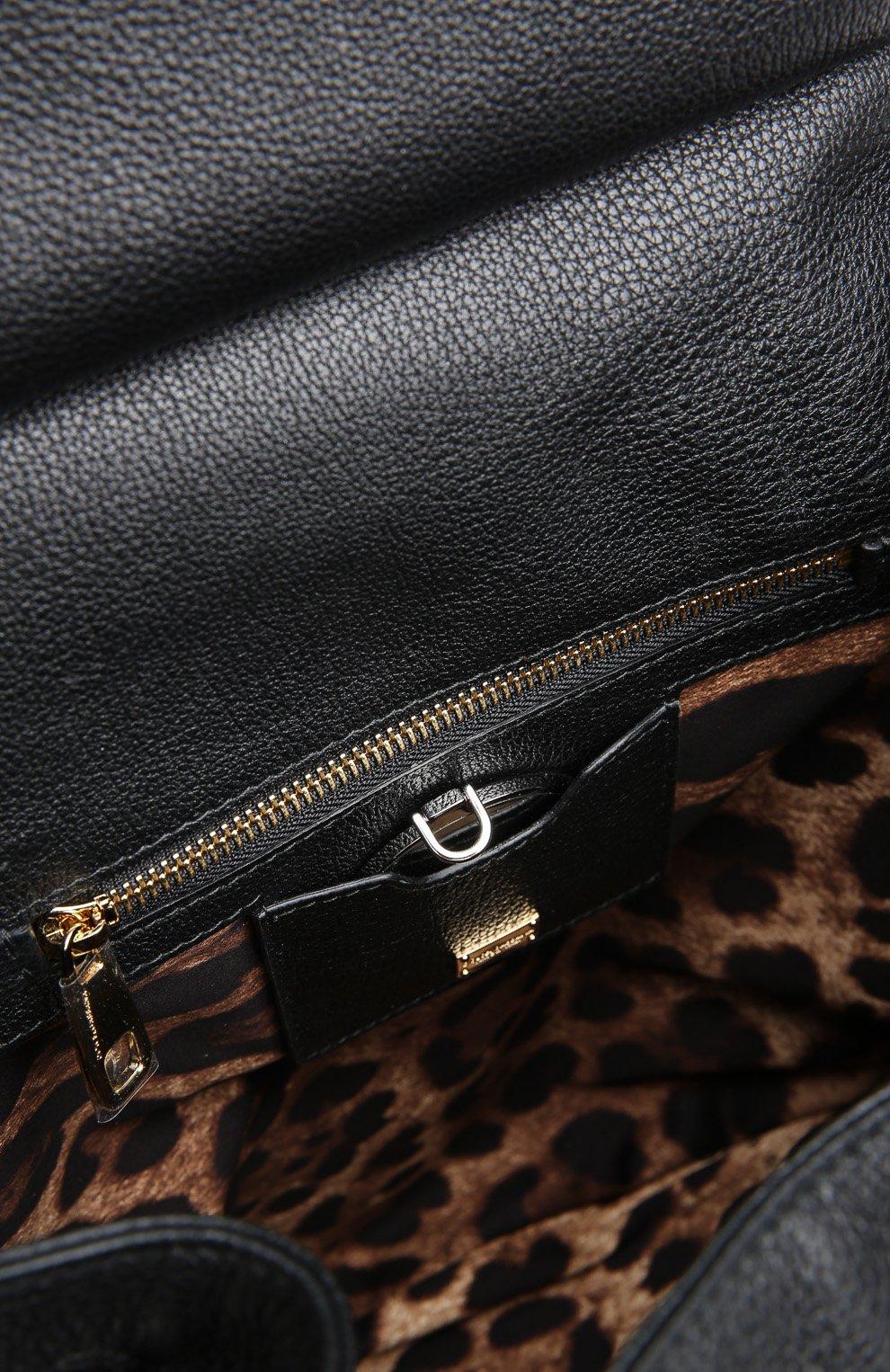 Кожаный рюкзак Sicily Backpack с зеркалом | Фото №3