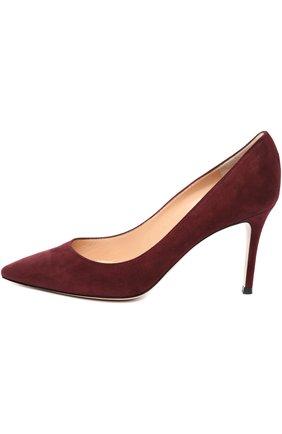 Замшевые туфли Classic на шпильке   Фото №1