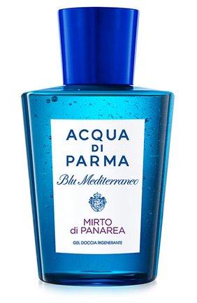 Женского гель для душа blu mediterraneo mirto di panarea ACQUA DI PARMA бесцветного цвета, арт. 57113ADP | Фото 1