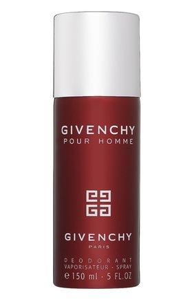 Парфюмированный дезодорант-спрей Givenchy Pour Homme | Фото №1