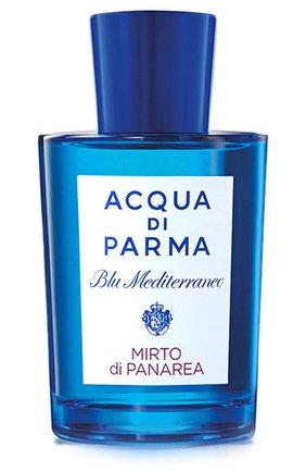 Женский туалетная вода blu mediterraneo mirto di panarea ACQUA DI PARMA бесцветного цвета, арт. 57008 | Фото 1