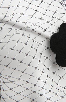 Ободок REDVALENTINO черного цвета | Фото №4