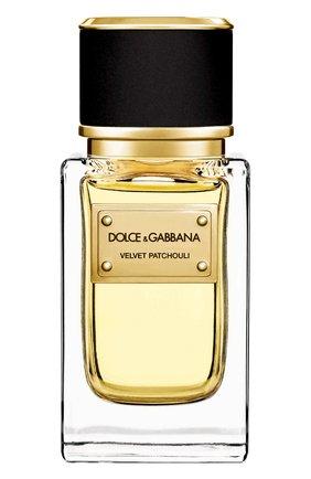 Женский парфюмерная вода velvet collection patchouli DOLCE & GABBANA бесцветного цвета, арт. 737052497259 | Фото 1