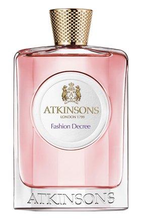 Туалетная вода Fashion Decree Atkinsons | Фото №1