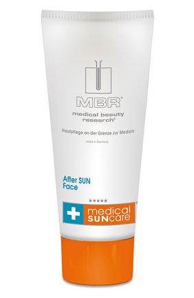 Женского успокаивающий гель для лица medical sun care after sun MEDICAL BEAUTY RESEARCH бесцветного цвета, арт. 1830/MBR | Фото 1