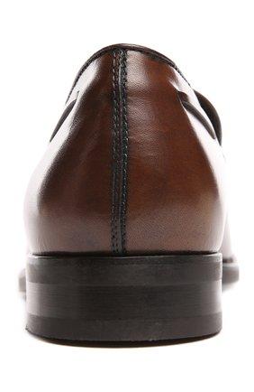Лоферы Tod's коричневые | Фото №5