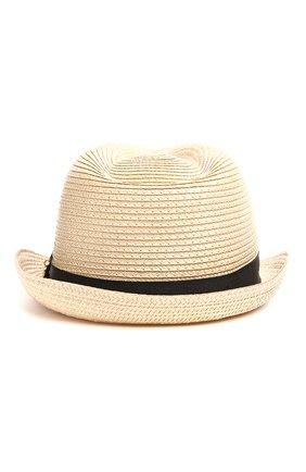 Шляпа Melissa Odabash бежевого цвета | Фото №1