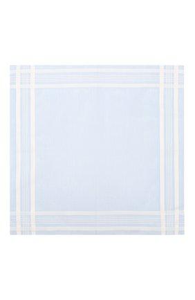 Мужской хлопковый платок SIMONNOT-GODARD светло-голубого цвета, арт. C0NCERT0 | Фото 2