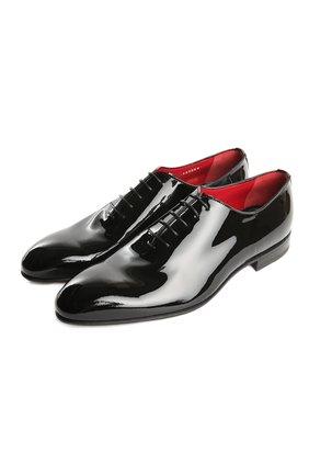 Мужские туфли BARRETT черного цвета, арт. 131U064/VERNICE | Фото 1