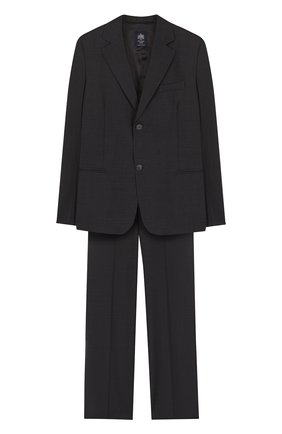 Шерстяной костюм с пиджак на двух пуговицах | Фото №1