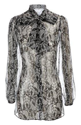 Блуза Dolce & Gabbana черно-белая | Фото №1