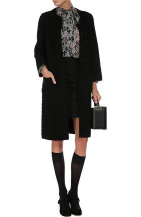 Блуза Dolce & Gabbana черно-белая | Фото №5