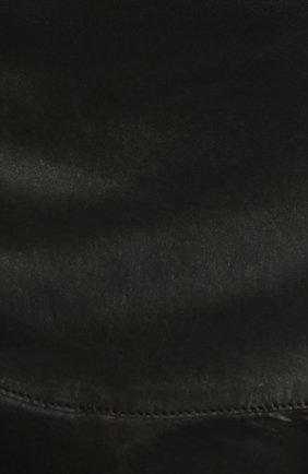 Кожаная юбка | Фото №4