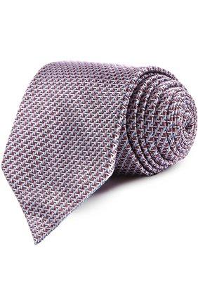 Мужской галстук BRIONI розового цвета, арт. 063I/044BF | Фото 1
