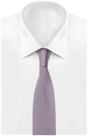 Мужской галстук BRIONI розового цвета, арт. 063I/044BF | Фото 2