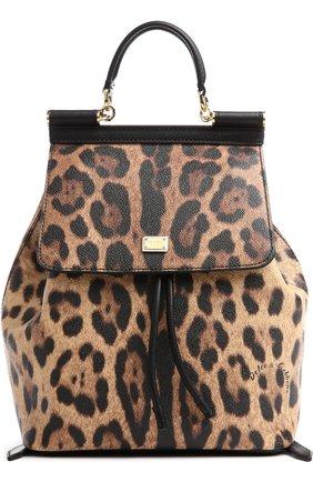 Рюкзак Sicily с леопардовым принтом   Фото №1