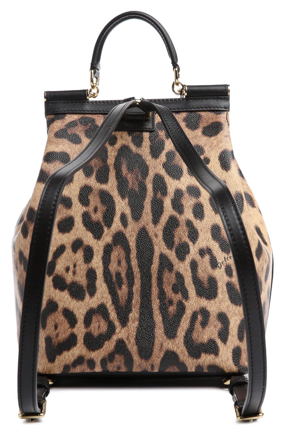 Рюкзак Sicily с леопардовым принтом | Фото №2