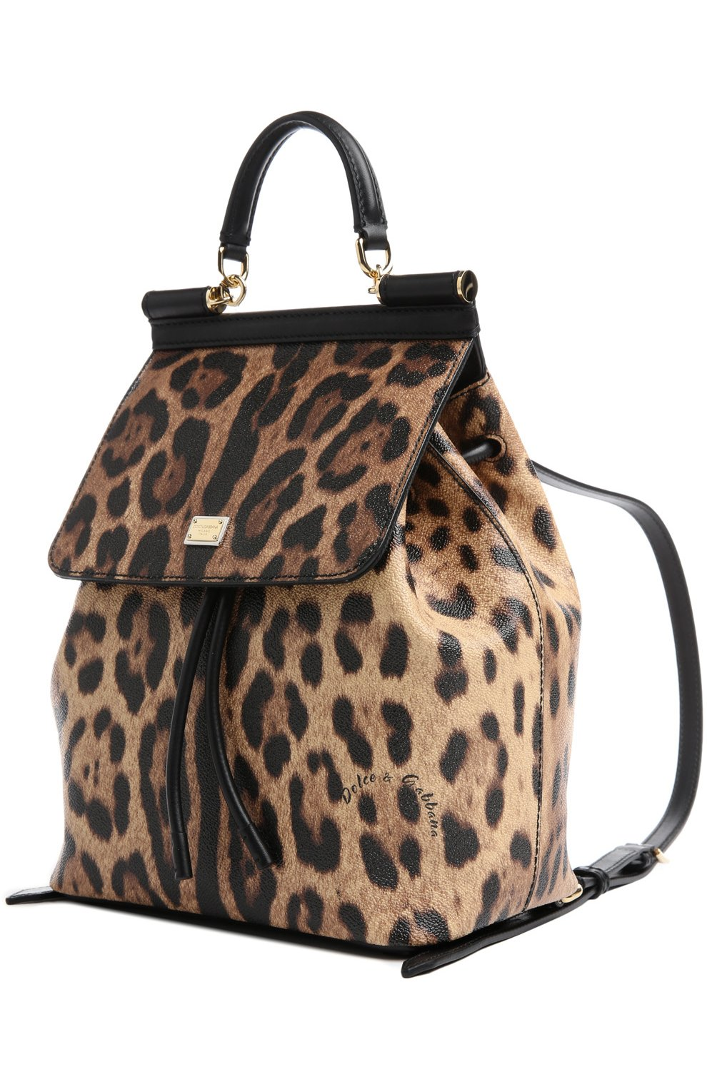 Рюкзак Sicily с леопардовым принтом   Фото №3