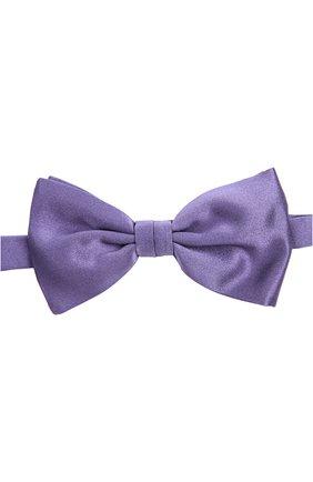 Мужской галстук-бабочка BRIONI сиреневого цвета, арт. 01L0/P446X   Фото 1