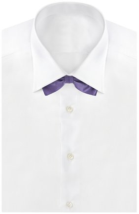 Мужской галстук-бабочка BRIONI сиреневого цвета, арт. 01L0/P446X   Фото 2