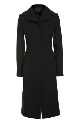 Пальто Dolce & Gabbana черного цвета   Фото №1