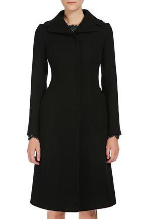 Пальто Dolce & Gabbana черного цвета   Фото №2