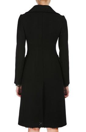 Пальто Dolce & Gabbana черного цвета   Фото №3