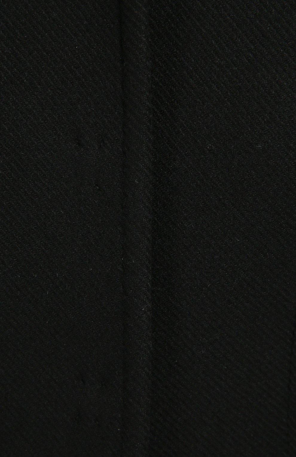 Пальто Dolce & Gabbana черного цвета   Фото №4