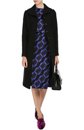 Пальто Dolce & Gabbana черного цвета   Фото №5