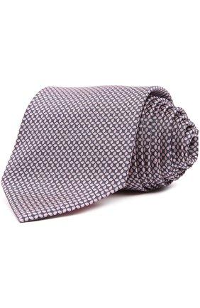 Мужской галстук BRIONI розового цвета, арт. 063I/044AC | Фото 1