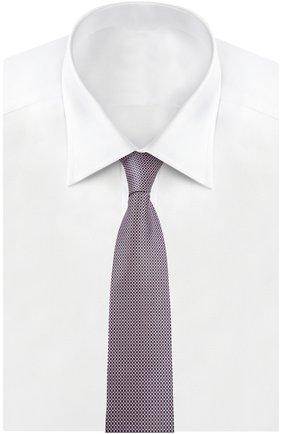 Мужской галстук BRIONI розового цвета, арт. 063I/044AC | Фото 2