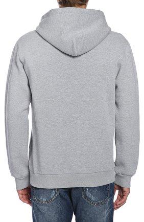 Пуловер джерси Dolce & Gabbana серый | Фото №3