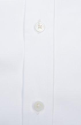 Мужская сорочка с булавкой TOM FORD белого цвета, арт. 6FT00094S1EV | Фото 2