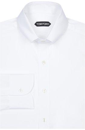 Мужская сорочка TOM FORD белого цвета, арт. 6FT00094G1AH | Фото 1