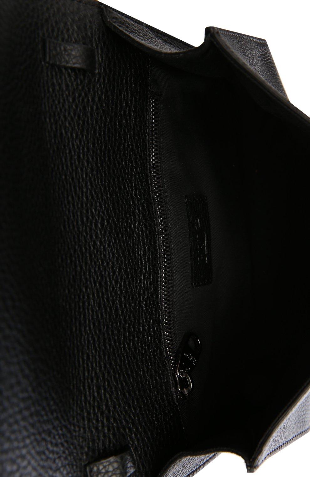 Клатч REDVALENTINO черного цвета | Фото №4