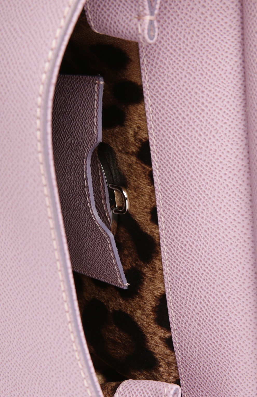Сумка Sicily small Dolce & Gabbana лиловая цвета | Фото №4