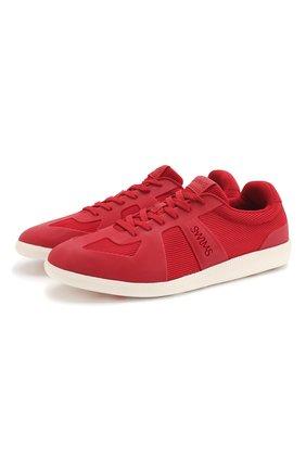 Мужские кроссовки SWIMS красного цвета, арт. 750 | Фото 1
