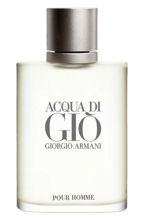 Мужской туалетная вода acqua di gio GIORGIO ARMANI бесцветного цвета, арт. 3360372058878 | Фото 1